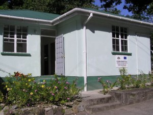 The lab on Dominica